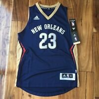 ANTHONY DAVIS NEW ORLEANS PELICANS ADIDAS SWINGMAN NBA BASKETBALL JERSEY YOUTH M