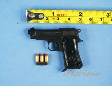BERETTA GUN PISTOL M1924 Black 1:3 Scale Action Figure Toy Model K1181 B