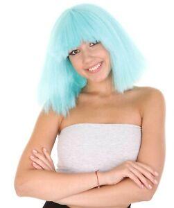 Australian Singer Collection Large Celebrity Blue Lake Wig HW-1131 (Adult)