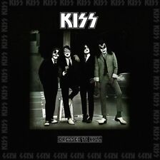 Kiss - Dressed To Kill Vinyl LP Cover 80's Metal Sticker or Magnet