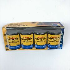 Kodak Advantix Versatility Aps 400 Speed Film 4 Pack Expired 8/2006 New Sealed