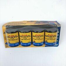 Kodak Advantix Versatility Aps 400 Speed Film 4 Pack Expired 8/2006 New Sealed