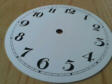 Émail Horloge Cadran 155 mm chiffres arabes
