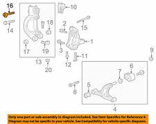 GENUINE GM 11561297  BOLT - Front Suspension Strut Yoke