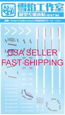 US Seller Fast Shippin SD-10 SD SDCS Seed Freedom Gundam Gunpla Waterslide Decal