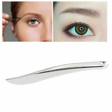 Lady Makeup Beauty Tool Stainless Steel Eyebrow Tweezer Hair Clip CL D
