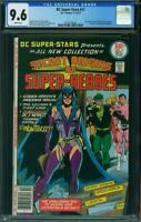 DC Super-Stars 17 CGC 9.6 1st Appearance Huntress ( Batman daughter )