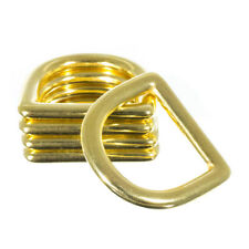 Brass D-Ring – 1 Inch (inside) – Great for Crafting, Diy Projects, and More
