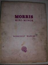 Morris Mini-Minor and Mini-Cooper Workshop Manual (1139)
