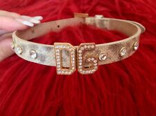 *NEW* AUTHENTIC DOLCE & GABBANA .... DIAMANTE /CRYSTAL CHOKER NECKLACE