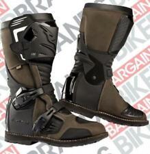 Falco Avantour Brown Touring Motorcycle Motorbike 100% Waterproof Boots