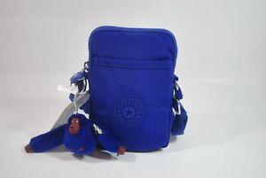 New With Tag Kipling TALLY Mini Crossbody Phone Bag KI0271 4HC - Twilight Blue