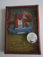 "1950'S JAVANESE JUGGLER TOY - BALANCE BALLS ON ARMS AND LEGS - 5"" X 3 1/2"" - BBA"
