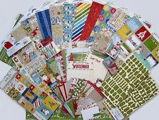 New! Bo Bunny [DEAR SANTA] Paper & Embellishment Set  [Save 50%] Set A