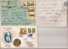 RUSSIA- 1897/1966?/1973 covers to Austria,France & U.S.