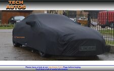 Jaguar XJS convertible coche cubierta interior prima negro satinado acabado Luxor
