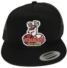 VENADOS DE MAZATLAN BASEBALL  MEXICO HAT COLOR  BLACK TRUCKE SNAP BACK NEW HAT