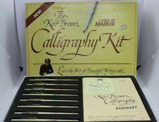 The Ken Brown Calligraphy Kit Chisel Tip Markers Product No 3095 Vintage Hunt