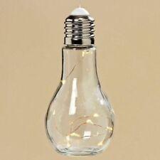 LED Glühbirne 10 Micro LED zum aufhängen H19cm Glühlampe Deckenlampe Tischlampe