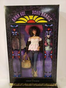 ANNA SUI BOHO BARBIE DOLL 2005 GOLD LABEL MATTEL J8514 NRFB