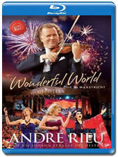 ANDRE RIEU Wonderful World Live in Maastricht 2015 Blu-ray disc NEW/SEALED André