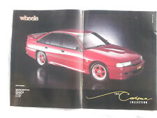 VN or VP Holden Commodore SS Group A Poster Removed from a magazine