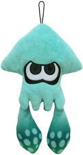 New Little Buddy Splatoon Plush (1434) Turquoise Inkling Squid Stuffed Plush Toy