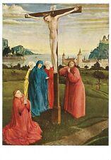 Postcard Konrad Witz Christ on Cross State Museum Berlin Unused NrMint