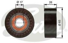 GATES Polea inversión/guía, correa poli V VOLKSWAGEN AUDI A4 A6 A8 A5 T36376