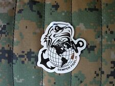 USMC - EGA  - ATHENTIC - Sticker / Decal - REFLECTIVE