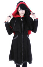 Restyle Bat Coat Jas Winter Gothic Occult NEW