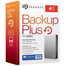 New Seagate Backup Plus for Mac 4 TB Portable External Hard Drive USB 3.0 4TB