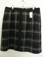 Above Knee Polyester Plaids & Checks Regular Skirts for Women