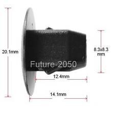 50 Nylon For Honda Accord Fender Apron Grommet Clip Tapping Screw 5mm