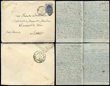 GB KE7 1902 to SPAIN 2 1/2d LONG LETTER + CHRISTCHURCH DUPLEX 200