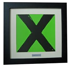 ED SHEERAN+X+THINKING+Album+LP+Art+GALLERY QUALITY FRAMED+EXPRESS GLOBAL SHIP