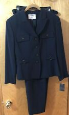 Kasper Pant Suit Women Navy NWT 12P