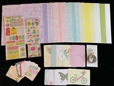 Ctmh Spring Harmony Girly Huge Paper Pack Picture My Life Cards Scrapbooking Kit