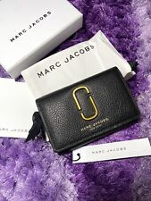 Authentic Marc Jacos Bifold Mini Wallet Black