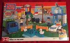 Mega Bloks Blok Town City Center Building Set #326 100 pieces Sealed in Box