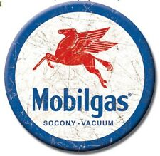"Mobil Pegasus - Round 3"" Refrigerator Ice Box Magnet  M610"