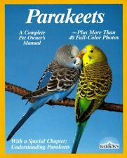 Parakeets: How to Take Care of Them and Understand