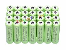 28x AA 3000mAh 1,2V pile Ni-MH rechargeable Vert Couleur cellule MP3 Jouets RC