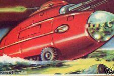 il mondo del futuro figurina 198 figurine lampo 1959 figurines lampo stickers gq