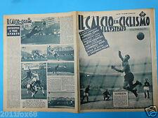 1956 il calcio e ciclismo illustrato n. 53 roma juventus napoli inter fiorentina