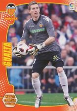 N°308 VICENTE GUAITA PANADERO # VALENCIA.CF CARD PANINI MEGA CRACKS LIGA 2012
