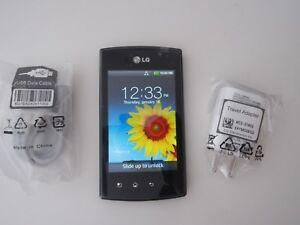 LG Optimus Plus AS695 (unknown) Carrier PREPAID CDMA  Black,