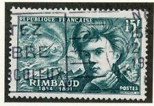 STAMP / TIMBRE DE FRANCE OBLITERE N° 910 ARTHUR RIMBAUD