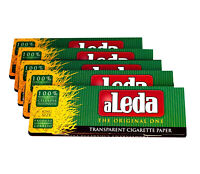 5 booklets aLeda Transparent Rolling Paper King Size - Rizla - Cellulose Papers