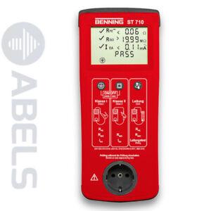 BENNING ST 710 Gerätetester nach DIN VDE 0701-0702 (EN 62638), 050308 *NEU*